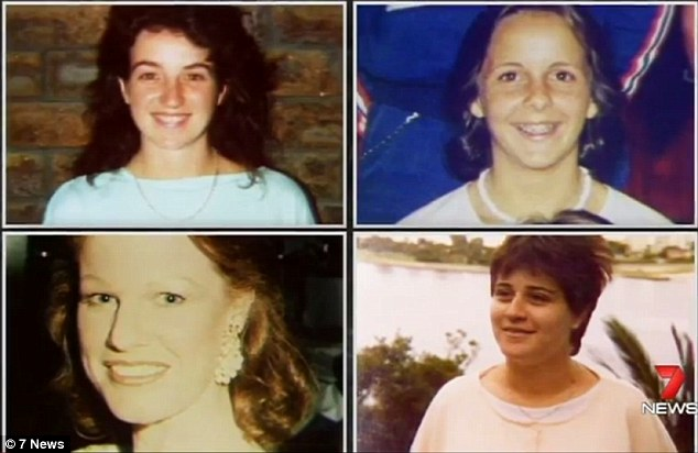 The Victims: Mary Neilson, Susannah Candy, Noelene Patterson, and Denise Brown